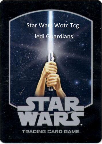 Star Wars wotc TCG Jedi Guardians Cards Part 2//2 JG