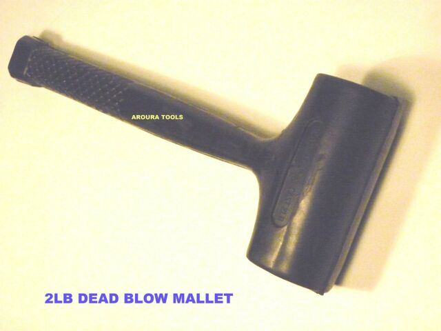 HAMMER DEAD BLOW DOUBLE FACE RUBBER MALLET 2LB/900g  BRAND NEW.