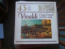 I TESORI DELLLA MUSICA CLASSICA=N°43=VIVALDI=CINQUE CONCERTI PER FIATI E ARCHI