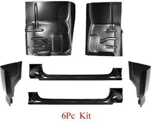 80 96 Ford 4Pc Slip-On Rocker /& Extended Cab Corner Kit F150 F250 F350 Super Cab