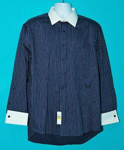 NEW-Donald-J-Trump-Dress-Shirt-Signature-Collection-French-Cuffs-17-34-35