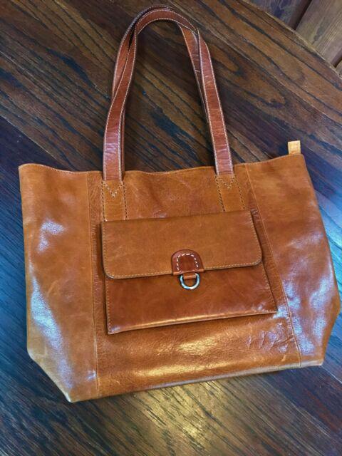 Leather Lambada Tote Bag Purse
