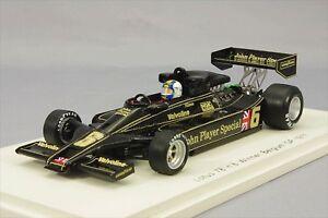 1-43-Lotus-78-Belgium-GP-1977-Winner-Gunnar-Nilsson-6-Spark-PLANEX-NEW