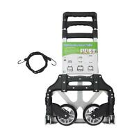 Ohuhu Folding Dolly Trolley Cart Collapsible Push Hand Truck Luggage Us-ship