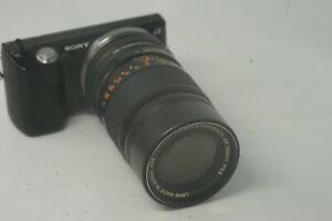 A6000 SONY MOUNT adaptado 50MM F1.8 PENTACON E Lente principal todos A7 NEX