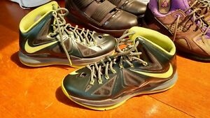 online store 84611 6b6f2 Image is loading 2012-Nike-Lebron-X-QS-Size-9-5-