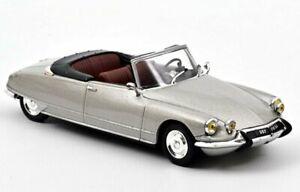 CITROEN DS 19 Cabrio - 1965 - pearl grey - Norev 1:43
