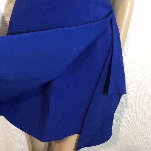 NEW BCBG MAXAZRIA QYUN Cutout  Short Dress  Sz 2 $268 Blue