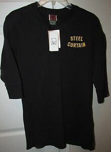 Image Is Loading NFL Pittsburgh Steelers Iron Curtain Shirt By Nike
