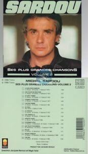 Michel-Sardou-Les-Plus-Grandes-Chansons-vol-2-CD-ALBUM-edition-de-1986