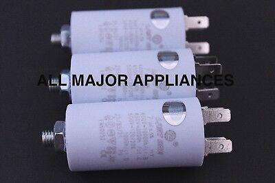 3 x 7uF RUN CAPACITOR PLASTIC 400//450//500V LONG LIFE F/&P ED56 AD55