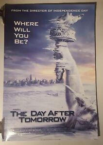 The-day-after-tomorrow-Original-Cinema-movie-poster-one-sheet-size-dennis-Quaid