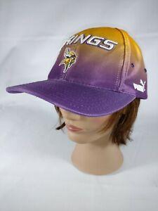 Vintage-Puma-Minnesota-Vikings-Hat-Pro-Line-Strapback-Hat-NFL-Football-Cap
