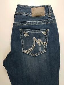 Maurices-Curvy-Bootcut-Stretch-Womens-Jeans-Sz-5-6-Short