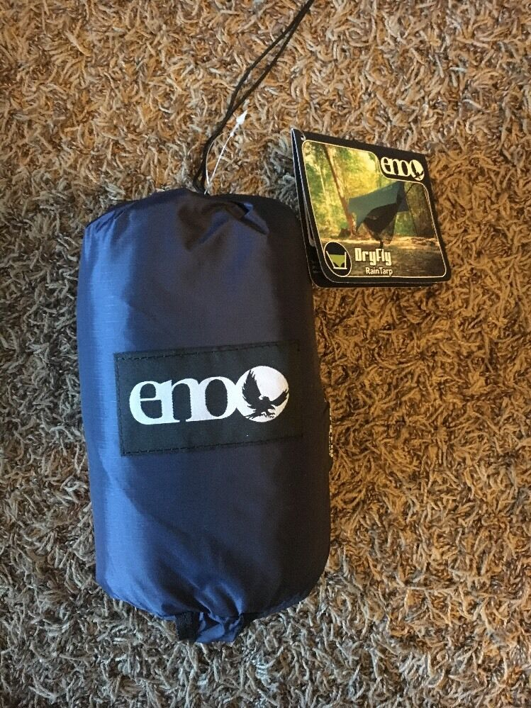 ENO Eagle Nest Outfitters DryFly Rain Tarp Navy Brand New With Tags