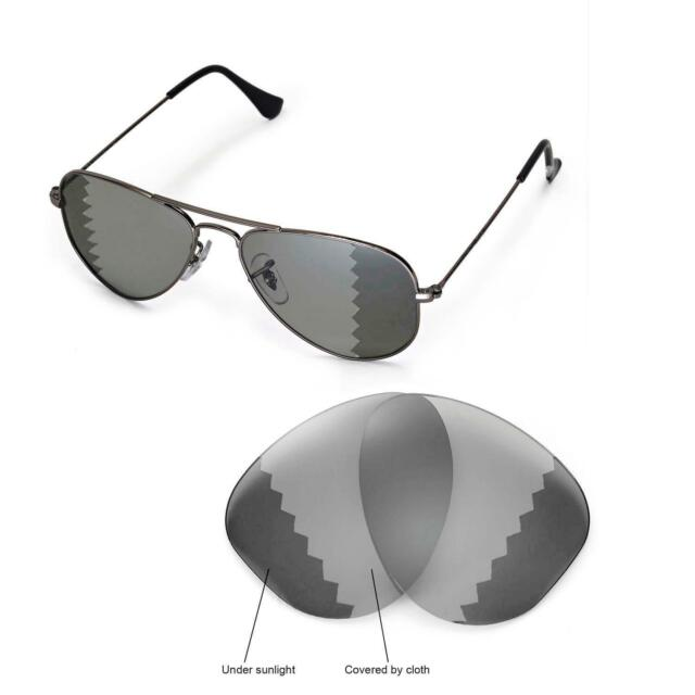 7e6d29b33bb ... australia new wl polarized transition lenses for ray ban aviator rb3044  small metal 52mm da065 4a041