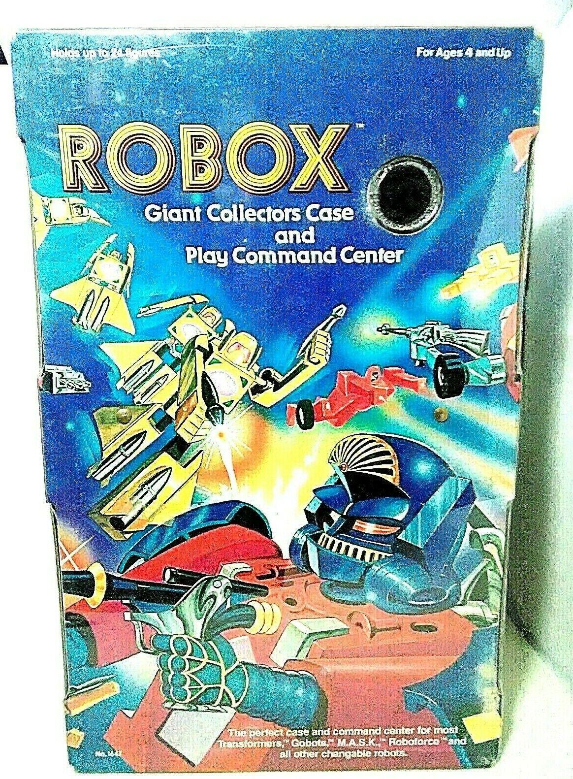 Robox Transformers Starcom Gobots Box Collectors Case