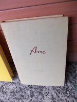 Anne, der beste Lebenskamerad, von Berte Bratt, aus dem Schneiderbuch Verlag.