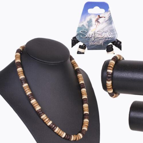 Surf Style Coloured Bead  Bracelet /& Bracelet Set