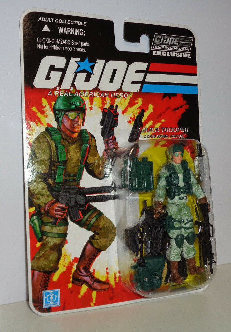 RECOIL GI Joe Collectors' Club Subscription Exclusive MOC FSS BAT Leader