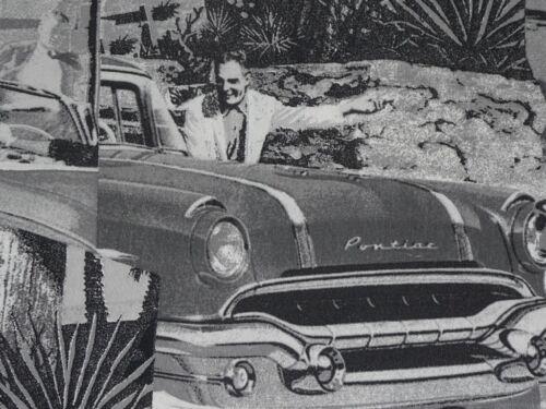 Deko Stoff Übergardin 2,80m breit  Pontiac 60er Jahre Fotodruck ab 50cm