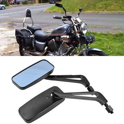 Universal Chrome Side Mirrors Motorcycle For Honda Yamaha Kawasaki Suzuki Custom