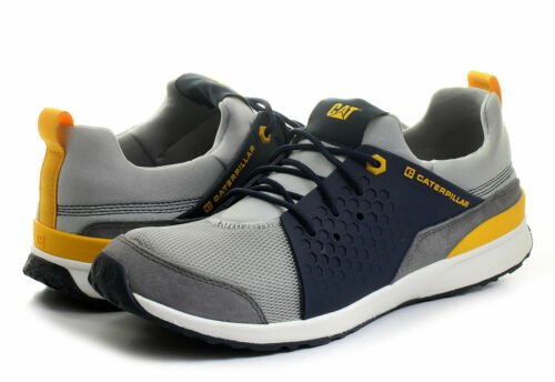 Mens Caterpillar Shoes Cat Unexpected Grey Sneakers Athletic Shoes NEW