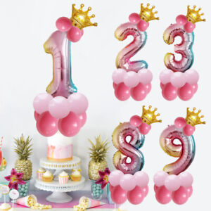 32-inch-Crown-Number-Foil-Balloon-Digit-Ballon-Happy-Birthday-Party-Decoration