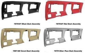 Details about C3 Corvette 1978-1982 Dash Assembly - Multiple Color Selection