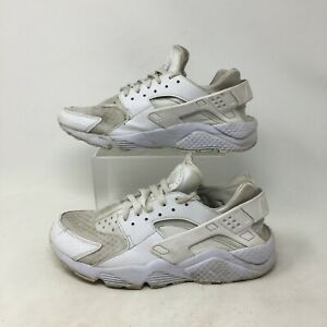 Details about Nike Air Huarache Run Ultra Sneakers Shoes Low Top Lace Up Mesh White Mens 8
