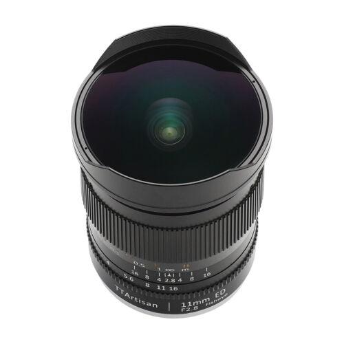 TTArtisans Fisheye 11mm F2.8 Full Fame Lens Sony E mount  A72 A7R2 A73 A74 A7R4