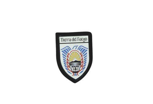 Ecusson brode thermocollant imprime blason patch tierra del fuego argentine