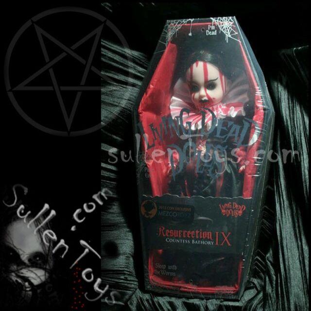 Living Dead Dolls Bathory Resurrection Series 9 Res Bloody Sealed LDD sullenToys