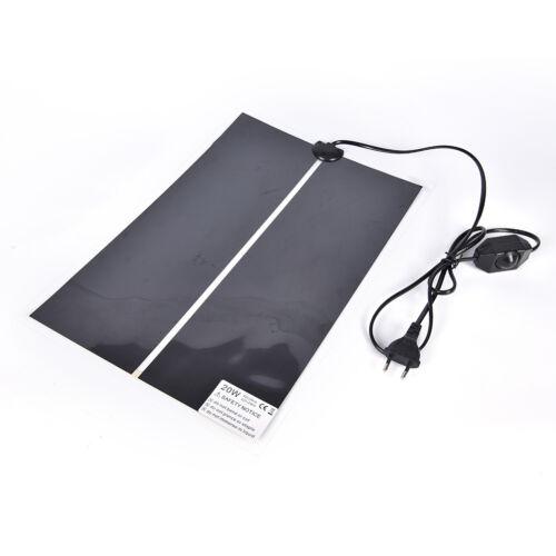 Heat Mat Reptile Brooder Incubator Heating Pad Warm Heater Pet Supply 5W-45W KH
