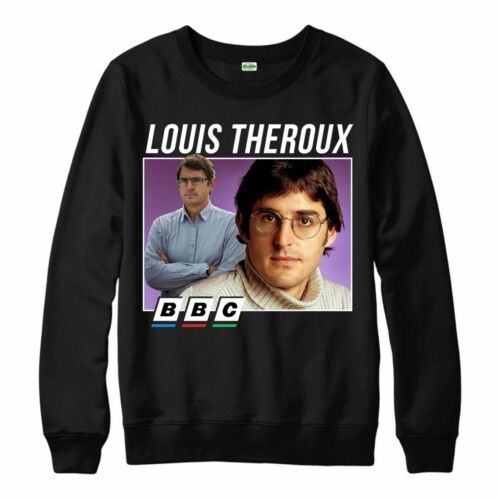 Louis Theroux BBC Funny Jumper Funny Retro Tv Jumper Adults Unisex Size S 4XL