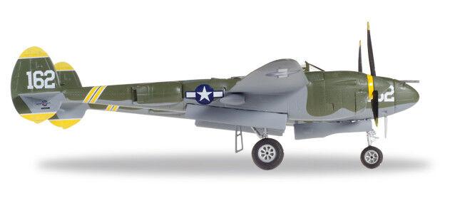 U.S. Army Air Forces (USAAF) Lockheed P-38J Lightning - Capt Perry J. 1 72 Herpa