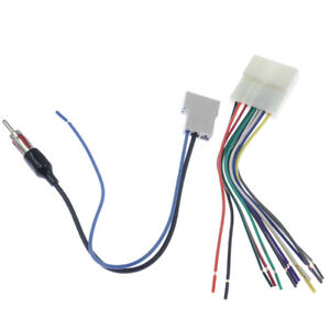 Details about Car Stereo Wiring Harness Adapter Cable Radio Install on