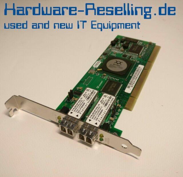 Qlogic FC5010409-23 G QLA2342 Pci-X 2GB Dual Port Canal de Fibra Tarjeta de Red