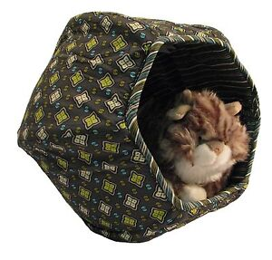 Miausleeper ™ Canapé-lit Cave Lounge Play pour chat, design Mardi Gras