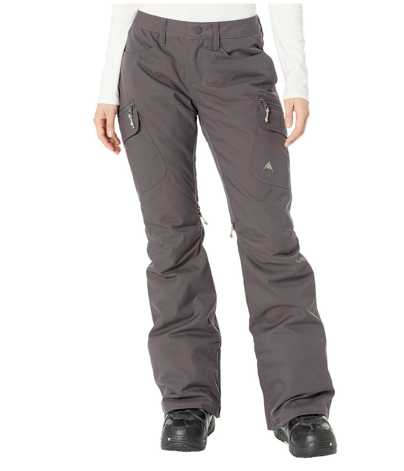 outlet sale off 63% Burton Womens Gray Thermolite Dryride Vented ...