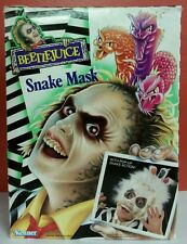 Vintage Retro Kenner Beetlejuice Snake Mask Surprise Toy Complete in Box CIB