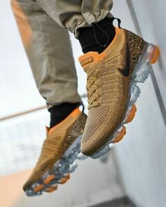 200401106eabe1 Nike Air Vapormax Flyknit 2 Leopard Tan Orange Size 8. AV7973-700 ...