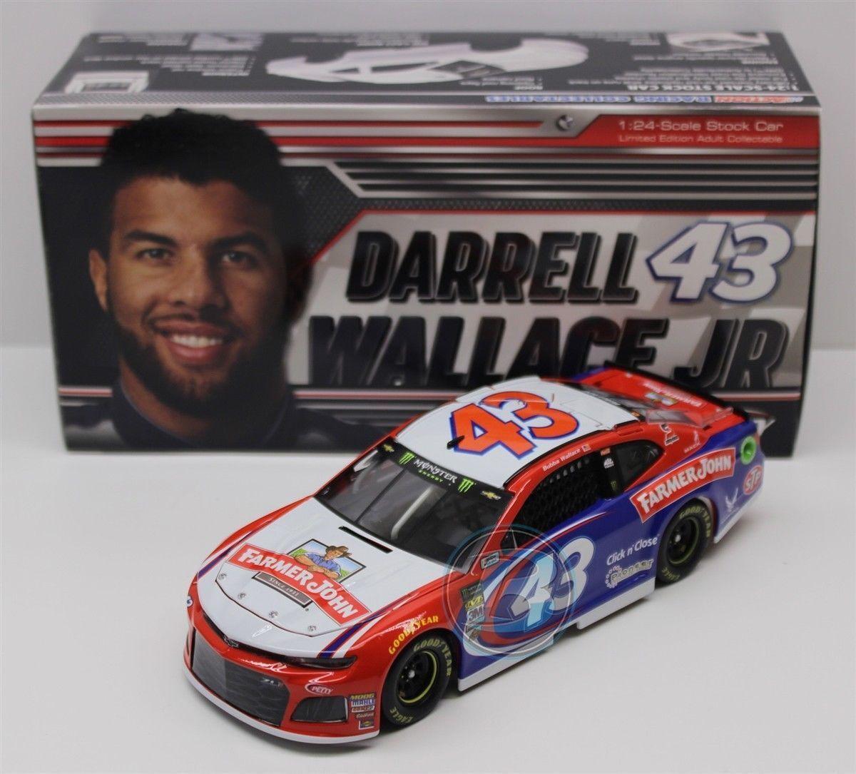 Darrell Wallace Farmer John HO 2018 1 24 Scale NASCAR Diecast