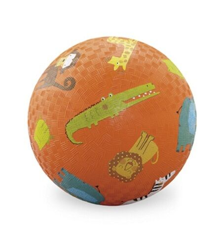 Crocodile Creek Heavy Duty Textured Rubber Indoor or Outdoor 5 or 7 Inch Ball