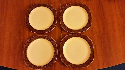 "Pottery Creative 4 Alfred Meakin Plates 7.5"" England Elegant And Sturdy Package"