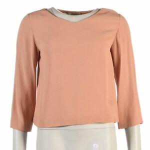 STELLA-MCCARTNEY-Top-Pale-Pink-Flare-Sleeves-Size-40-UK-8-RC-214