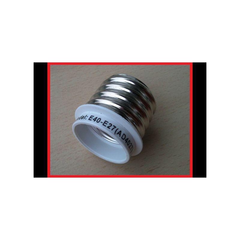 Adapter von E40 zu E27 für alle ESL , NDL , MH bis 400 Watt Grow Anzucht Lampe