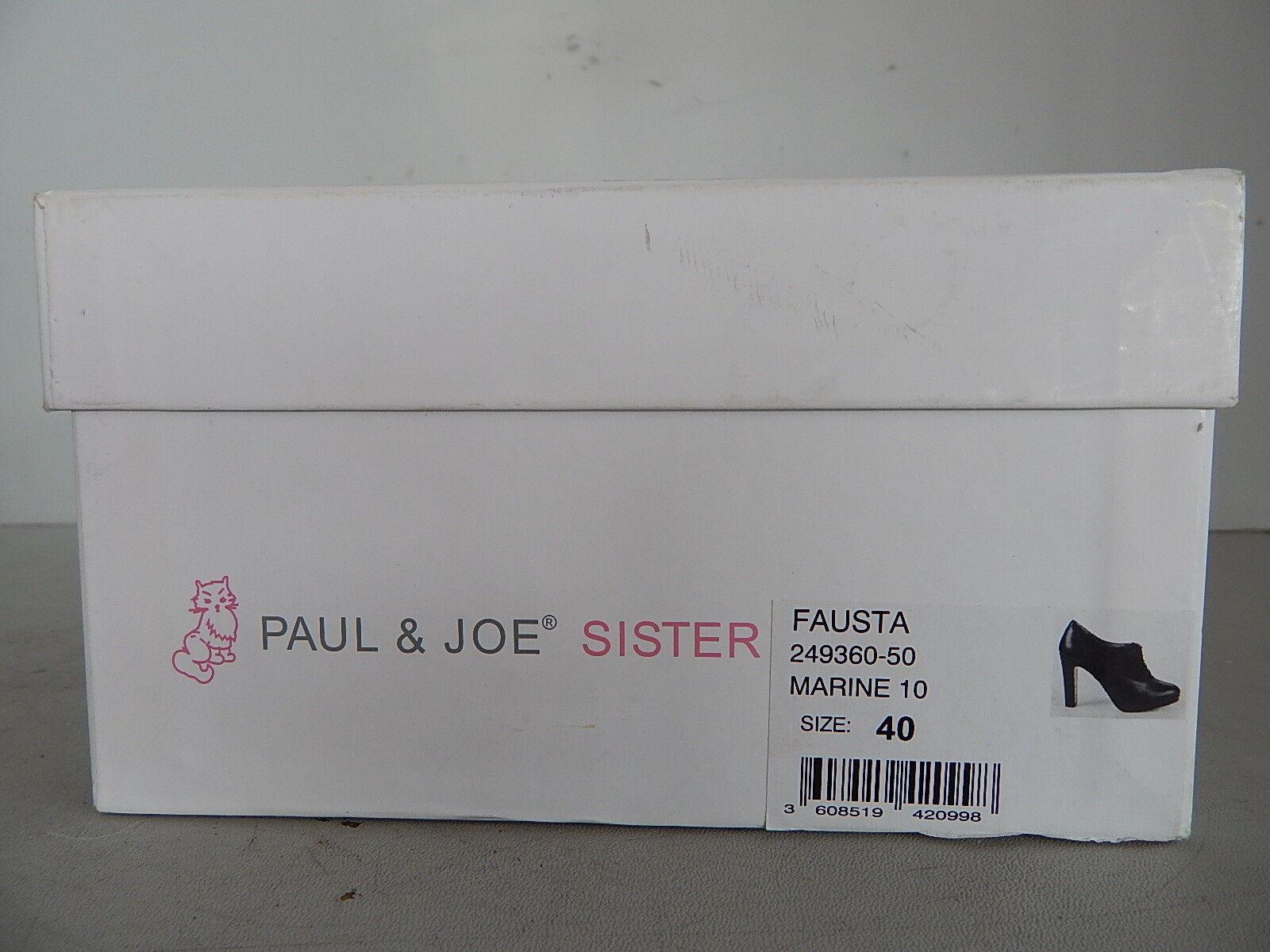 Paul & Joe Schnürer Sister FAUSTA Damen Klassischer Schnürer Joe Plateau Blau Gr. 40 wie 39 111e0d