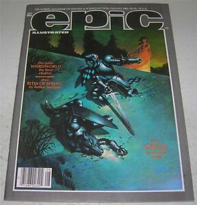 1983 EPIC Illustrated - Marvel Magazine v.1 #19 FN Barry Smith - Vaughn Bode