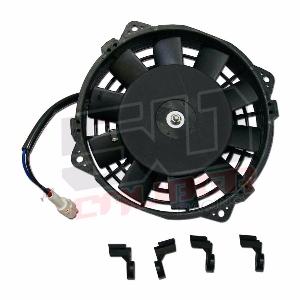 Motor de ventilador de enfriamiento flujo alto 12V 80W especificaciones YAMAHA OEM YAMAHA especificaciones Kodiak 4 X 4 2000 2001 EE. UU. 8c078e